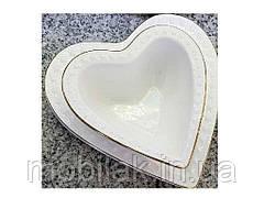 Блюда сервіровочні Серця 2шт/уп R87376 16,5*17,5см, 11*12см ТМCOOK