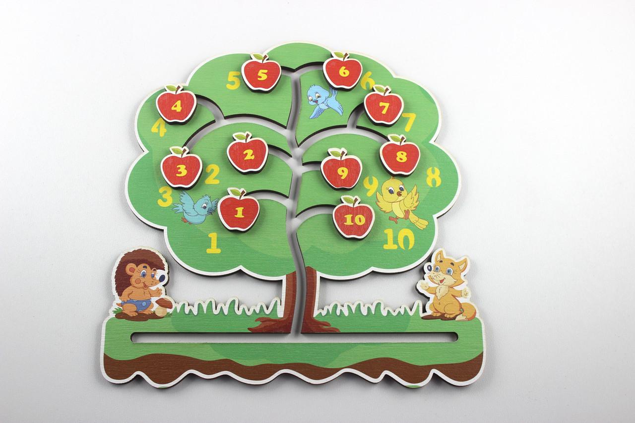 """Заготовка для Бизиборда по Монтессори Лабиринт """"Дерево"""" цветное №2"""