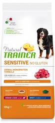 Корм Natural Trainer Dog Sensitive Medium&Maxi With Lamb для середніх великих порід з ягням 12кг