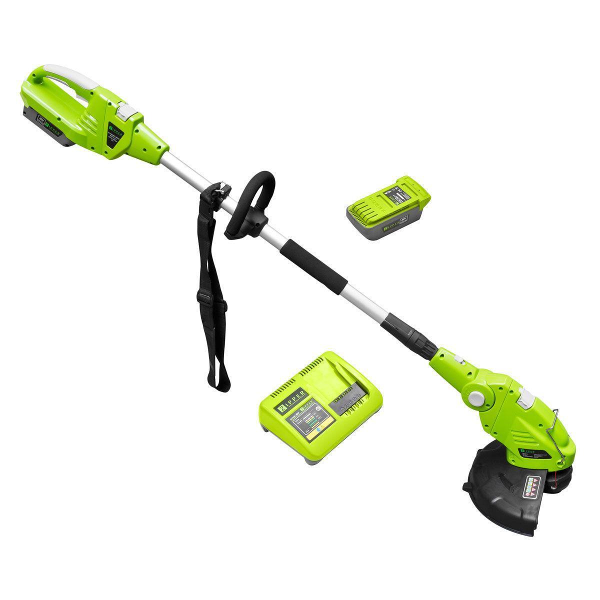 Аккумуляторный триммер для травы Zipper ZI-MOS40V-AKKU