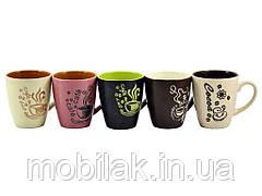 Чашка кер. 225 мл COFFEE MIX CD 37 (12шт в уп) ТМINTEROS