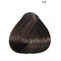Стойкая безаммиачная краска для волос Subtil Infinite  5-35 - светлый шатен золотистый красное дерево, 60