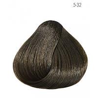 Стойкая безаммиачная краска для волос Subtil Infinite Ducastel 5-32 - светлый шатен золотисто-перламутровый