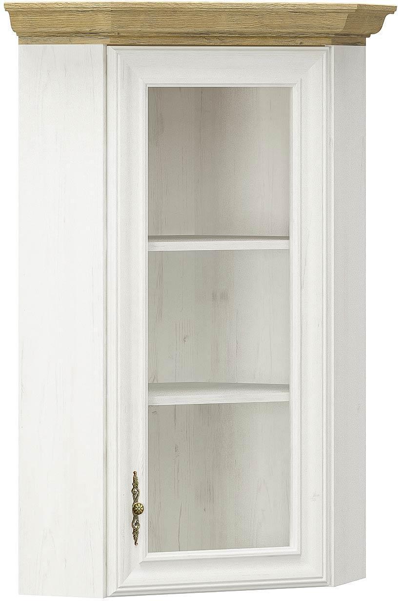 Надстройка угловая для комода Ирис Андерсон пайн + Дуб золотой Мебель Сервис (59х59х88.7 см)