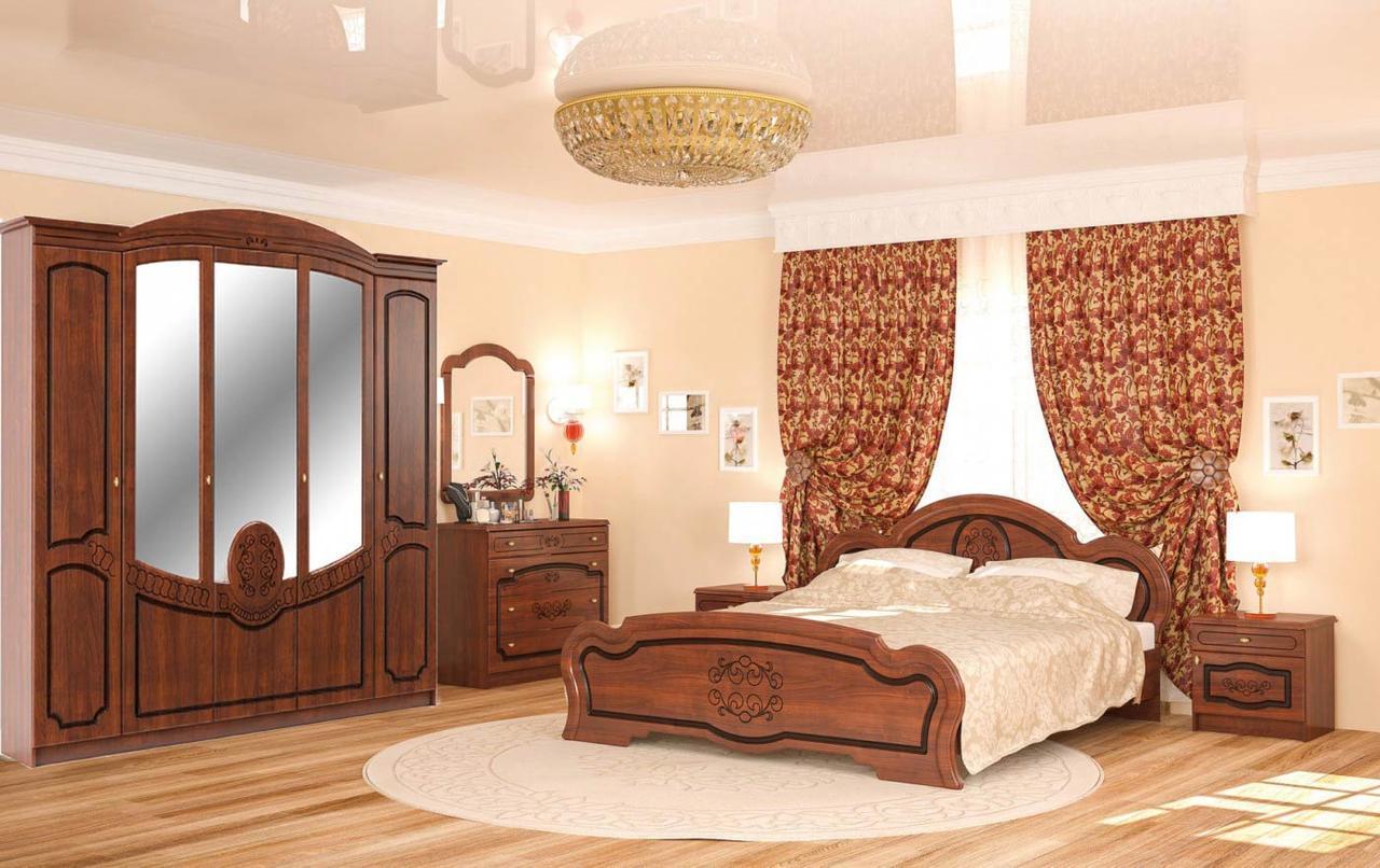 Бароко Спальня 2 МЕБЕЛЬ СЕРВИС