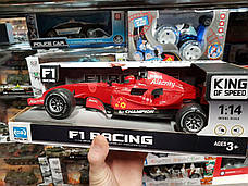 """Гоночная машина """"F1 Racing"""" со световыми и звуковыми эффектами GB117D Gufing Bo, фото 3"""