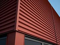 Монтаж фасадных панелей металлических