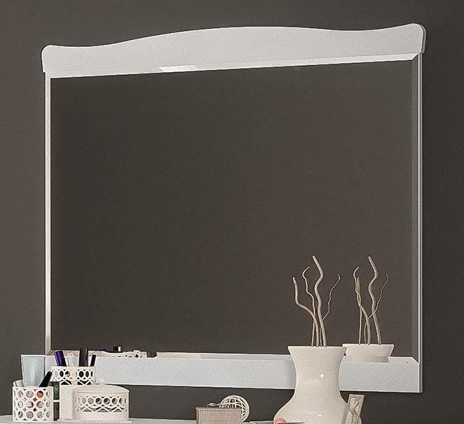 Ева Зеркало МЕБЕЛЬ СЕРВИС (102х92.4 см) Белый 11 кг