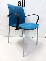 Офісний стілець замша
