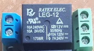Модуль реле (обмотка 12В выходные контакты 220В 6А)