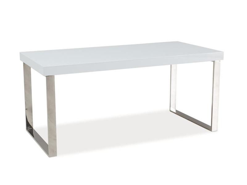 Журнальний стіл ROSA білий лак 100X50X45 (Signal)