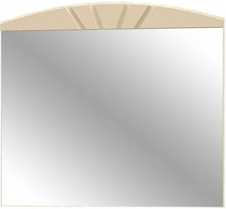 Аляска Зеркало МЕБЕЛЬ СЕРВИС (100х88 см) Дуб самоа + Капучино