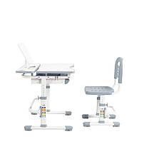 Эргономический комплект Cubby парта и стул-трансформеры Botero Grey, фото 3