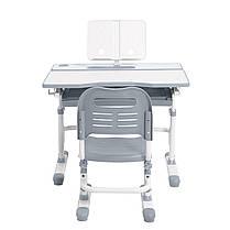 Эргономический комплект Cubby парта и стул-трансформеры Botero Grey, фото 2