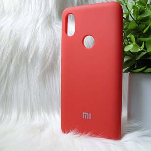 Силіконовий чохол Original Silicone case Xiaomi Redmi S2 / Y2 Red (червоний)