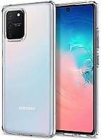 Чехол Spigen для Samsung Galaxy S10 Lite Liquid Crystal, Crystal Clear (ACS00687)