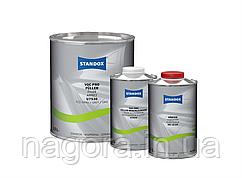 Грунт-наполнитель STANDOX, серый, U7530 VOC Pro Füller 3,5л + отвердитель 1л + ускоритель сушки 1л