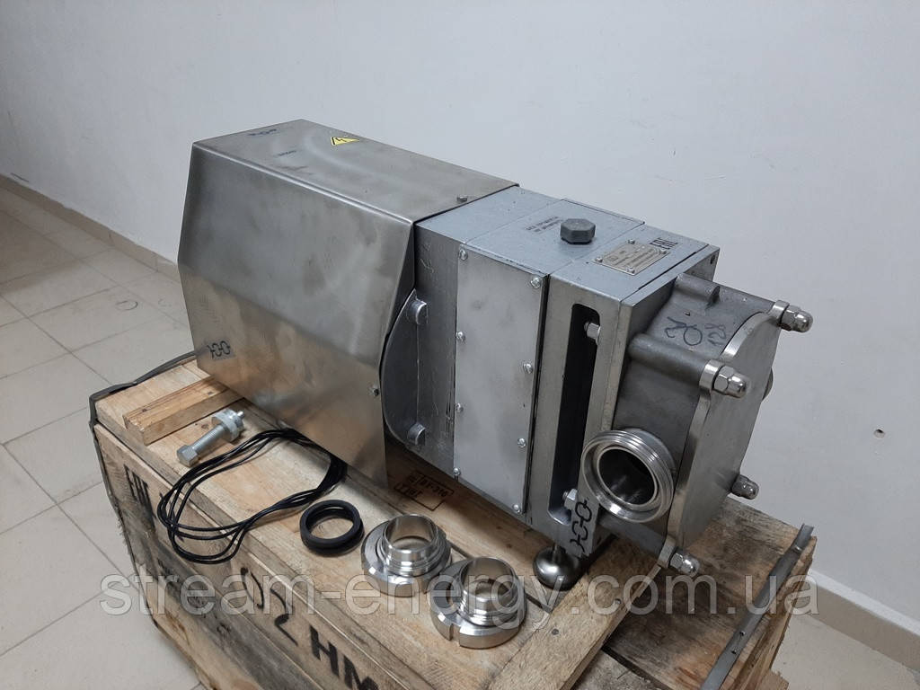 Роторный насос НМ-07 (12,5м3/час) 2-х лепестковый ротор
