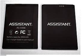 Аккумулятор АКБ для Assistant AS-5436 (Li-ion 3.8V 2850mAh) Оригинал Китай