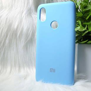 Силіконовий чохол Original Silicone case Xiaomi Redmi S2 / Y2 Blue (блакитний)