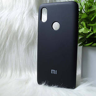 Силіконовий чохол Original Silicone case Xiaomi Redmi S2 / Y2 Black (чорний)