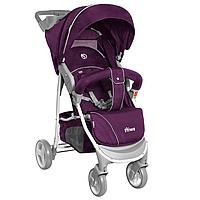 Детская прогулочная коляска-книжка Колеса EVA BABYCARE Swift BC-11201/1 Purple фиолетовый