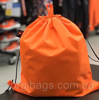 Рюкзак-мешок для сменной обуви, рюкзак-мешок для Спортивной формы, органайзер для обуви, оранжевый