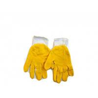 Перчатки из мягкой хлопчатобумажной ткани на пеновой основе