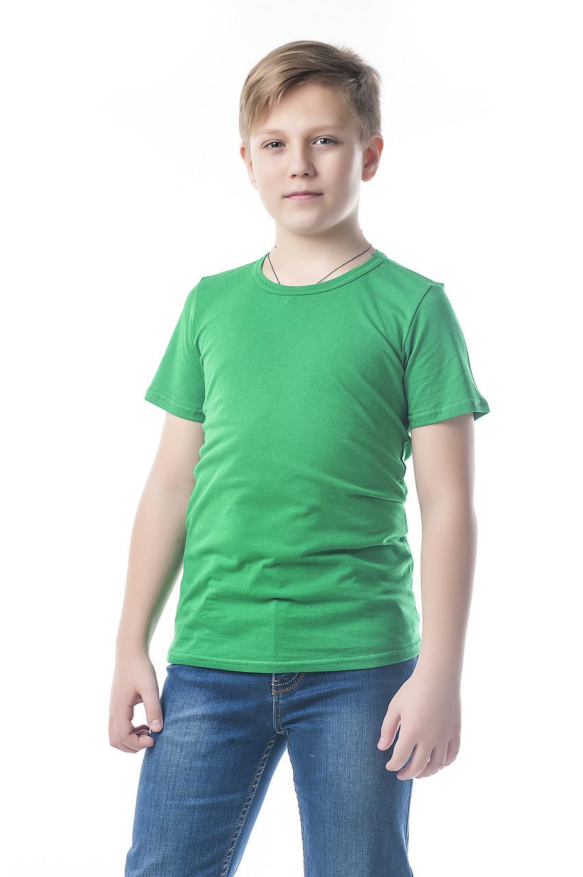 """Детская футболка """"AndreStar Kids"""" ЗЕЛЕНАЯ"""