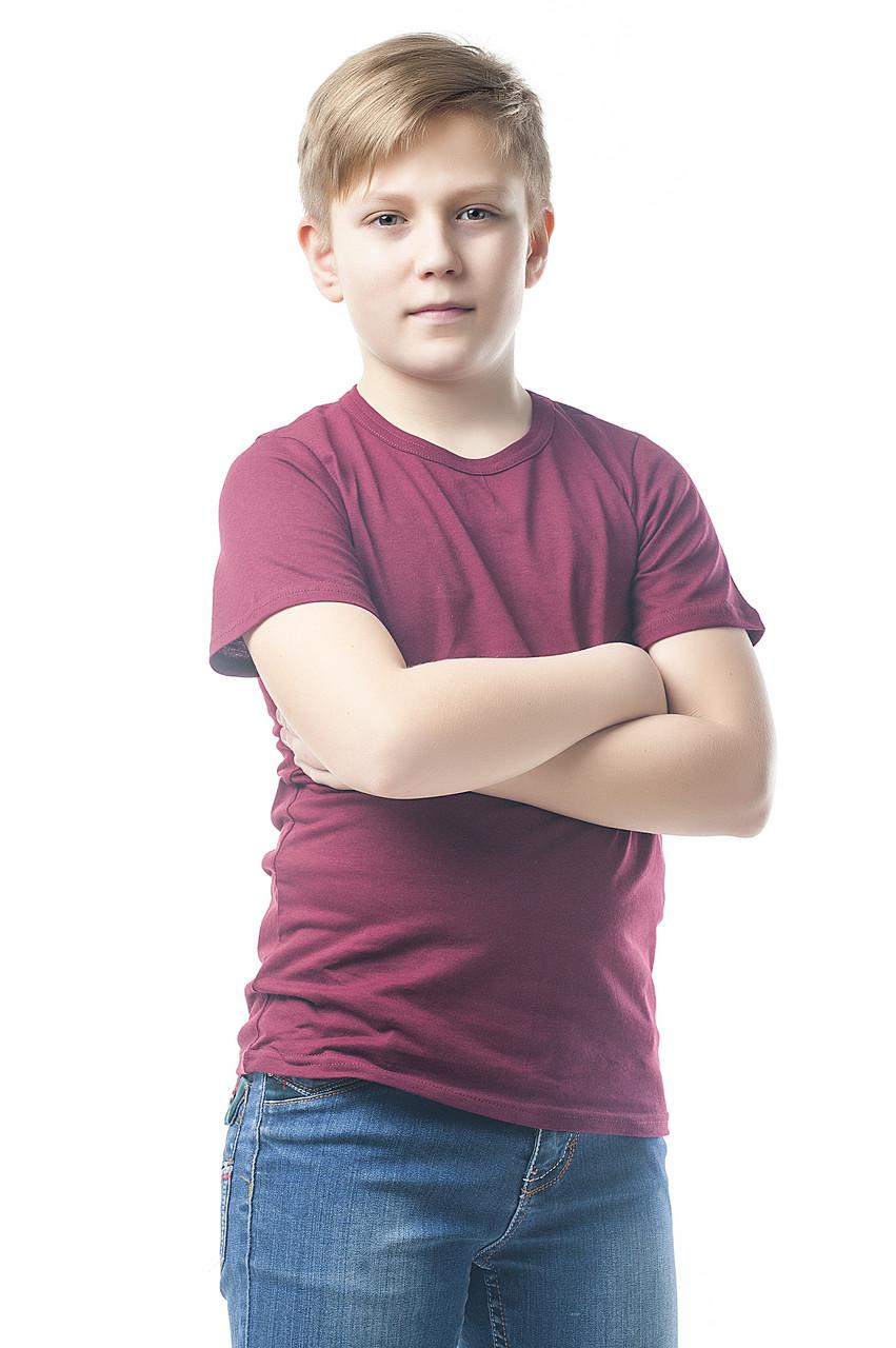 """Детская футболка """"AndreStar Kids"""" Бордовая"""
