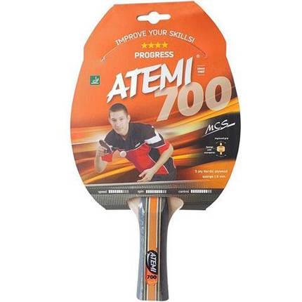 Ракетка для настольного тенниса ATEMI 700 сертифицирована ITTF, фото 2