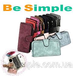 Жіночий замшевий гаманець-клатч Baellerry Forever Топ Продаж