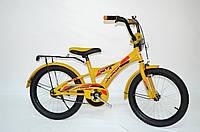 "Детский велосипед Veloz 18"" желтый"