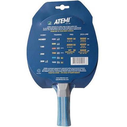 Ракетка для настольного тенниса ATEMI 800 сертифицирована ITTF, фото 2
