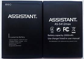 Аккумулятор АКБ для Assistant AS-5412   AS-5412 Max (Li-polymer 4.35V 2000mAh) Оригинал Китай