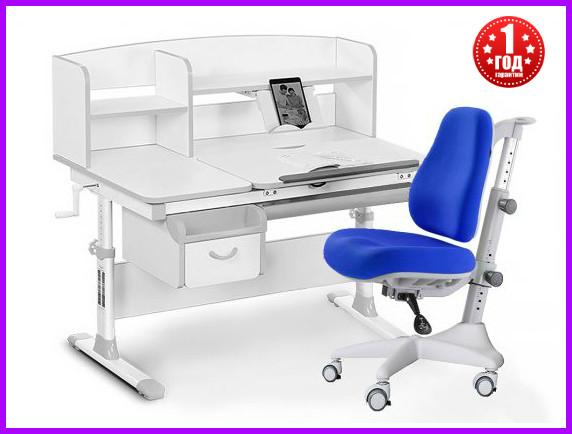 Комплект Evo-kids Evo-50 G стол+ящик+надстройка+кресло Match Y-528 SB