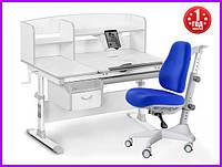 Комплект Evo-kids Evo-50 G стол+ящик+надстройка+кресло Match Y-528 SB, фото 1