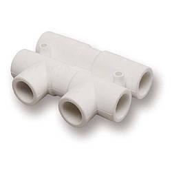 Распределительный узел из PPR Ekoplastik 25х20 мм