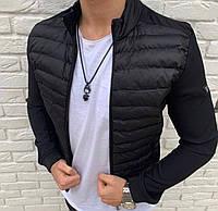 Чоловіча куртка чорна Skor