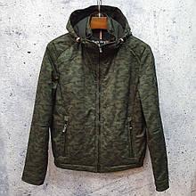 Камуфляжна куртка, вітровка VINYL BLACK TC18-1277