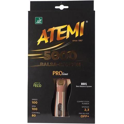 Ракетка для настольного тенниса ATEMI 5000 Pro сертифицирована ITTF