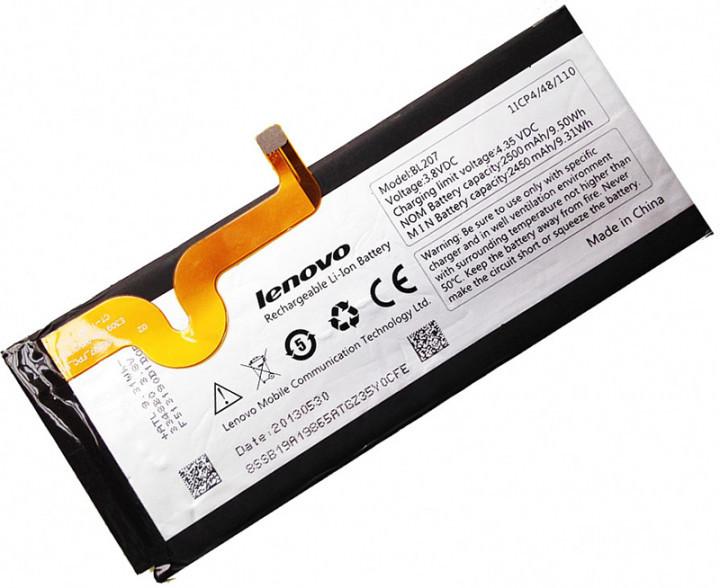 Аккумулятор АКБ Lenovo BL207 для Lenovo K900 (Li-ion 3.8V 2500mAh) Оригинал Китай