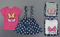 Комплект для девочек Seagull, 4-12 лет., фото 1