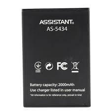 Аккумулятор АКБ для Assistant AS-5434 Club   AS-501 (2000mAh) Оригинал Китай