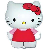 Фольгована кулька міні-фігура Кошеня кітті 31х22см