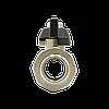 """Кран шаровый с накидной гайкой Raftec Black 1/2"""" DRBS1, фото 4"""