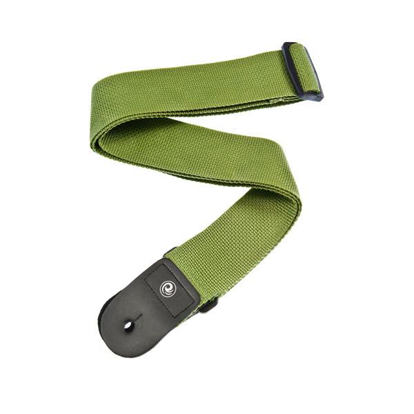 Гітарний ремінь PLANET WAVES PWS107 Polypropylene Guitar Strap, Green