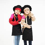 Комплект дитячий Latte Kids  5-7років | Фартух + Ковпак + Нарукавники, фото 3