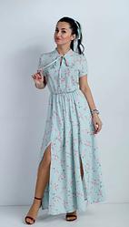 Легкое молодёжное платье размеры двойные 42-44,46-48,50-52