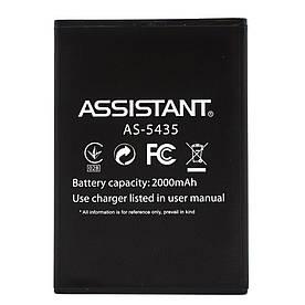 Аккумулятор АКБ для Assistant AS-5435 (2000mAh) Оригинал Китай